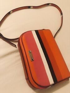 Kate Spade Pink White Black Combi Crossbody Bag