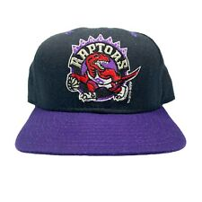 Vtg Rare NBA Toronto Raptors New Era Snapback hat