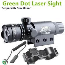 Tactical Green Dot Laser Sight Scope Hunting 20mm Rail Picatinny Gun Rifle Scope