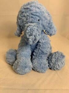 """Jellycat Blue Elephant Fuddlewuddle Plush 9"""" Soft Stuffed Animal"""