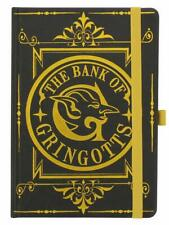 OFFICIAL HARRY POTTER GRINGOTTS PREMIUM A5 NOTEBOOK NOTE PAD SCHOOL BOOK JOTTER