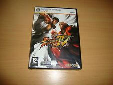 STREET FIGHTER IV 4 DE CAPCOM PARA PC NUEVO PRECINTADO