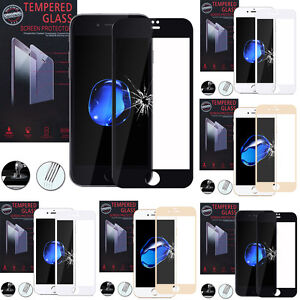 """Lot/Pack Film Toughened Glass Protection For Apple IPHONE 7 4.7 """""""