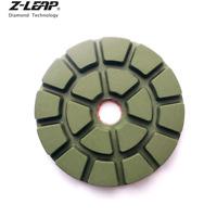 "3PCS 4"" Diamond Wet Polishing Pads Set Resin Polishing Wheel for Stone Concrete"