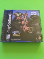 🔥 PS1 PlayStation 1 PSX GAME 💯 COMPLETE WORKING GAME 🔥 TOBAL NO. 1 🔥