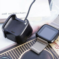 Charging Dock For Fitbit Versa Smart Watch USB Data Cable Base Desktop ChargALQA
