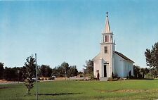 Boise Idaho Christ Chapel Built In 1866~First Episcopal In Idaho Postcard 1960s