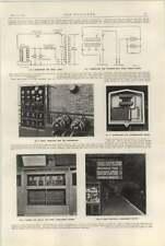 1922 Mersey Railway James Street Station Cabinet Indicators Transformers