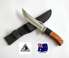 COLUMBIA USA SABER A0017 Hunting Knife Survival Outdoor 30cm w/Sheath-AUS STOCK