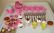 "18"" doll cookies dessert food Girl Our toy bakery lemonade milkshake tea cups"