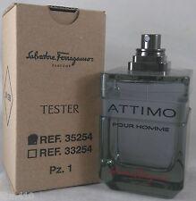 jlim410: Salvatore Ferragamo Attimo Homme Men, 100ml EDT TESTER cod ncr/ paypal