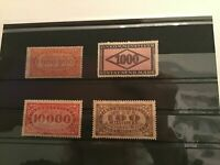 Germany  Weimar Revenue mint never hinged stamps  R22314