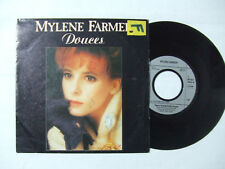 "Mylene Farmer ‎– Douces - Disco Vinile 45 Giri 7"" StampaGERMANIA 1990"