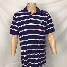 Para Hombre Chaps Ralph Lauren Purple Stripe de Superdry medio 100% Algodón M Golf