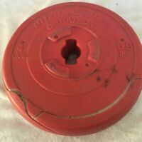 Orbatron Challenger 8.8 Lbs Ultra K-Tron Weight Plastic Coated Red Cracked