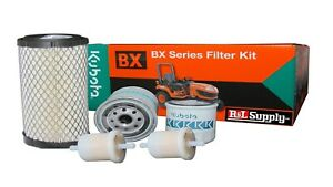 Kubota BX Filter  Maintenance Kit  BX24 BX25D DLB BX1500 BX1800 Oil Fuel Air Hyd