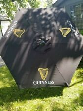 Guinness Beer Outdoor Patio Deck Umbrella Bar Pub Brand New Restaurant