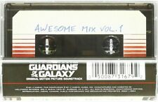Guardians Of The Galaxy Cassette Awesome Mix Vol 1 Tape New Free Shipping lysisi