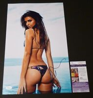 "EMILY RATAJKOWSKI Authentic Hand-Signed ""SEXY S.I."" 11x17 photo (JSA/COA)(PROOF)"