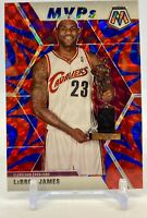2019-20 Panini Mosaic Lebron James MVP Reactive Blue #298 SP Prizm
