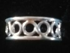 Solid Sterling Silver 925 Adjustable Filigree Toe Ring