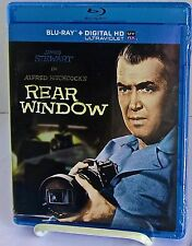 """Rear Window""  (Blu-ray + HD DVD w UV) (2014) 1954 Hitchcock w James Stewart"