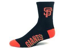 For Bare Feet San Francisco Giants Black & Orange Deuce Quarter Socks