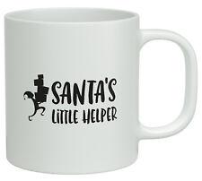 Santa's Little Helper Christmas White 10oz Mug Novelty Gift
