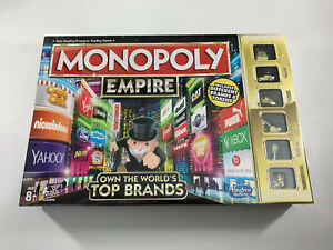 Monopoly Empire Own The Worlds Top Brands Hasbro Original Board Game