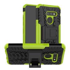 For LG G8 Shockproof Kickstand Rubber Hybrid Armor Case Dustproof TPU Back Cover