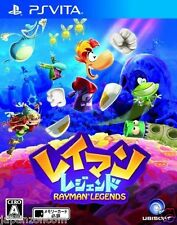 Used PS Vita Rayman Legends  SONY PLAYSTATION JAPANESE IMPORT