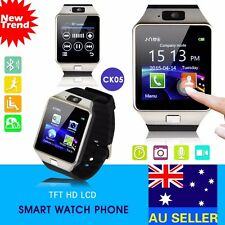 Unlocked Smart Bluetooth SIM Phone Watch with Camera for Android Samsung iPhone