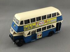 Real Ice Cream, Trux Code 2 TX6H - AEC Regent Double Decker - Blue