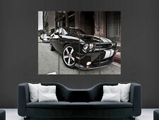 DODGE CHALLENGER SRT8 MUSCLECAR  WALL POSTER ART PICTURE PRINT LARGE