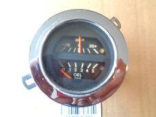 Opel GT Öldruckanzeige Öldruck Amperemeter  Chromring