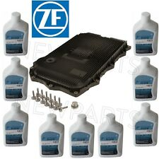 For BMW 8HP Auto Trans Serv. Kit Oil Pan Filter Kit Gasket Plugs 9L Fluid ATF ZF
