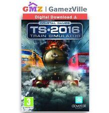 Train Simulator 2016 Steam Key PC Game Digital Download Code [EU/US/MULTI]