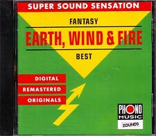 Zounds-Earth Wind & Fire-FANTASY-Best-RARE Audiophile CD 1995