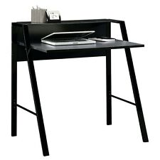 Sauder Furniture Beginnings Desk with Tempered Glass Top, Black SF-412883