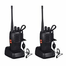 2PCS Baofeng BF-888S Two Way Radio Walkie Talkie Wireless Handheld UHF400-470MHz