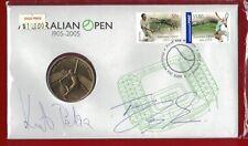 2005 PNC $5 'Australian Tennis Open' Signed by Petra Kvitova & Tomas Berdych