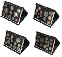 Black Leather Deluxe Royal Mint Proof Sets 2008 to 2011 Choice of Set Birthday