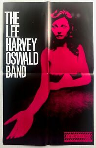 THE LEE HARVEY OSWALD BAND s/t 1989 Touch And Go Records PROMO Poster NOISE