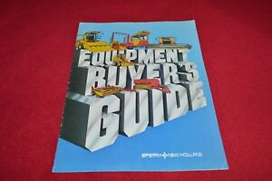 New Holland Buyers Guide Dealer's Brochure YABE14