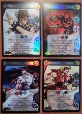 UFS: Street Fighter : RARE PROMO FOIL SET of 4: Chun-Li, Ken, Ryu, Dhalsim