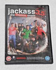 DVD FILM JACKASS 3.5 (DVD, 2011) THE EXPLICIT MOVIE