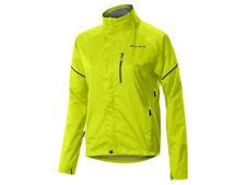 Abbigliamento giallo impermeabile per ciclismo Donna