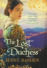 The Lost Duchess, Barden, Jenny, 0091949238, Very Good Book