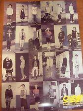 EXO XOXO [KISS VER] 1st Album Repackage GROWL CD +Unfold POSTER $2.99 Ship EXO-K
