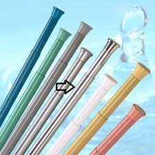 BARRE DE Rideau douche argent aluminium 140 - 250 cm haute qualité tige calage